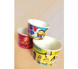 Ice Cream Paper Cups & Lids
